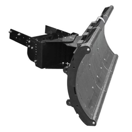 Nordic Plow NAP-R201H 49 in. Snow Plow for Lawn Tractors, Black (Plows For Lawn Tractors)