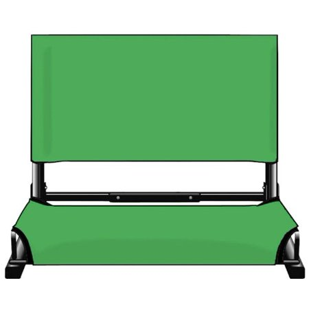 Kelly Green Stadium Chairs - image 1 de 1