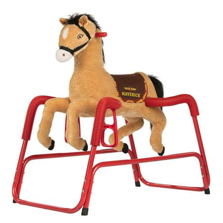 Rockin Rider Maverick Spring Horse