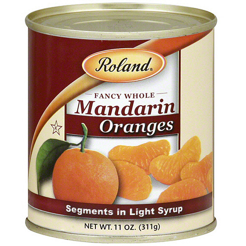 Roland Fancy Whole Mandarin Oranges, 11 oz (Pack of 24)
