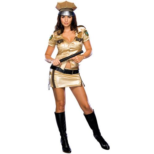 Reno 911 Female Deputy Adult Halloween Costume
