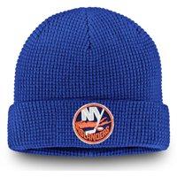 online retailer 789cb cbf1d Product Image New York Islanders Fanatics Branded Waffle Cuffed Knit Hat -  Royal - OSFA