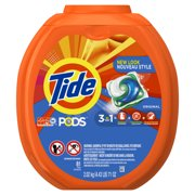 Tide PODS Liquid Detergent Pacs, Original, 81 count