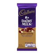 Cadbury, Roasted Almond Milk Chocolate Candy Bar Box, 3.5 Oz., 14 Ct.