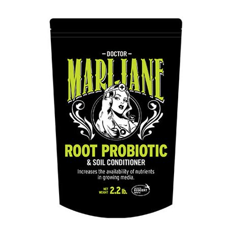 DOCTOR MARIJANE Root Probiotic, Hydroponics, Soil Conditioner, Organic Soil Amendment. Increases the availability of Nutrients in Growing Media. Mix with Media or Mix with