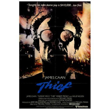Thief (1981) 27x40 Movie Poster