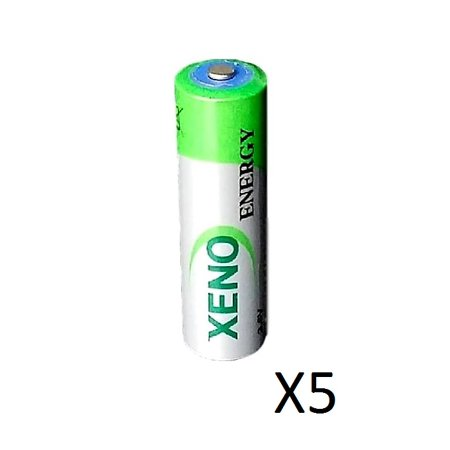 5  Xeno Er14505 3 6V Aa For Ipass I Pass Lithium Batteries