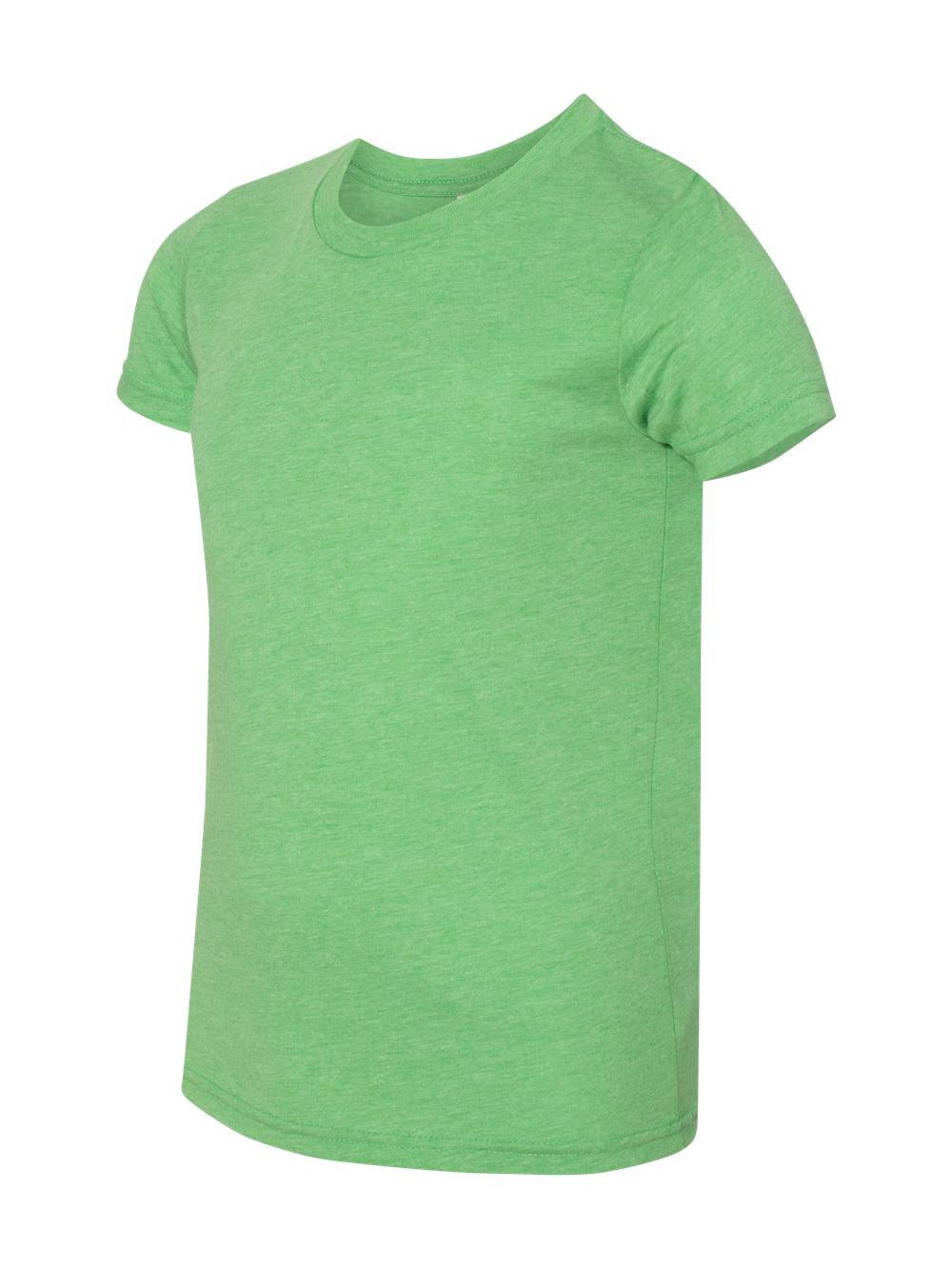 Bella + Canvas T-Shirts Youth Triblend Jersey Short Sleeve Tee