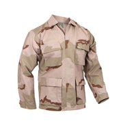 Rothco Tri Color Desert BDU Shirt - 9810 - 2X-Large