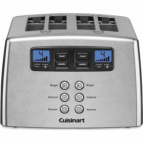 Cuisinart Touch to Toast 4-Slice Leverless Toaster CPT-440