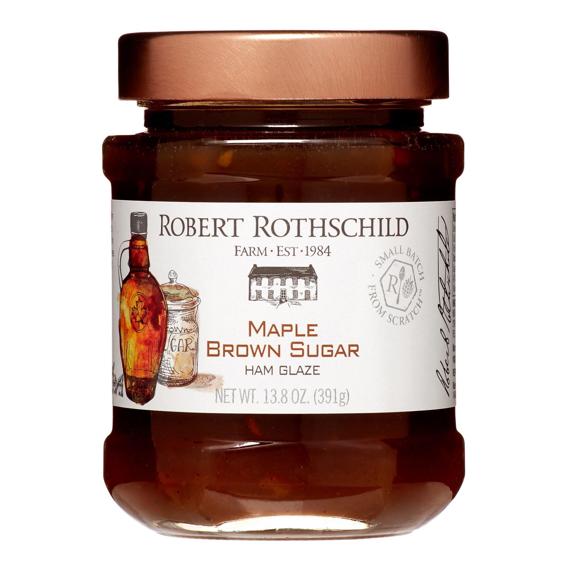 Robert Rothschild Farm Ham Glaze, Maple Brown Sugar, 13.8 Oz by Robert Rothschild Farm