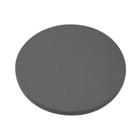Tesoro 5 75  Closed Round Grey Metal Detector Search Coil Cover Scuff 5 75 Gry