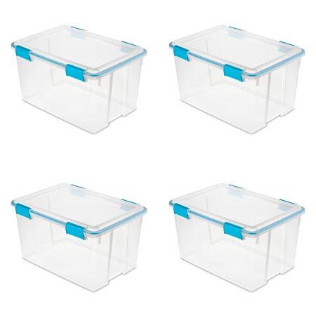 Box Cover Gasket (Sterilite 54 Qt./51 L Gasket Box, Blue Aquarium (Case of 4) )