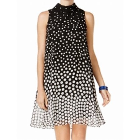 4667dc360716 Jessica Howard - Jessica Howard NEW Black White Womens Size 12P Petite Shift  Dress - Walmart.com