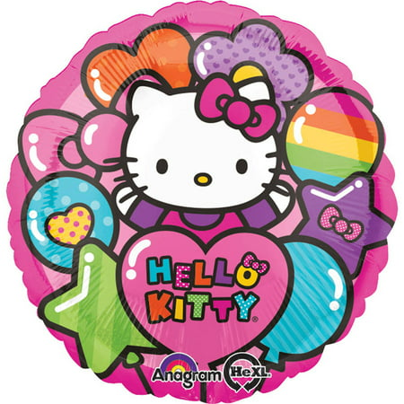 Hello Kitty Rainbow Foil - Rainbow Kitty