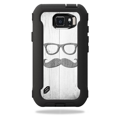 MightySkins Protective Vinyl Skin Decal for OtterBox Defender Galaxy S6 Active Case wrap cover sticker skins Hipster