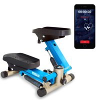 PROGEAR 750 Bluetooth Smart Cloud Fitness High Capacity Mini Stepper with Free App, 250lbs
