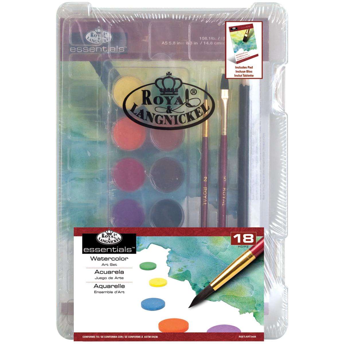 Clearview Mini Art Set, Watercolor Art, 18pc