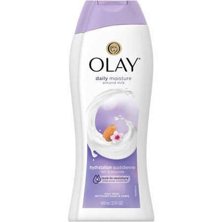 Olay Daily Moisture with Almond Milk Body Wash, 22 oz