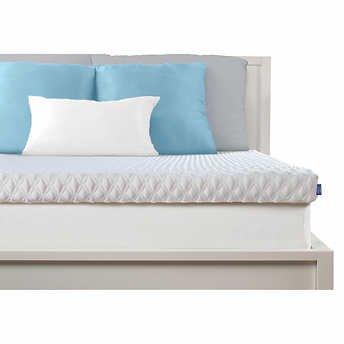 serenity by tempur pedic memory foam mattress topper full. Black Bedroom Furniture Sets. Home Design Ideas