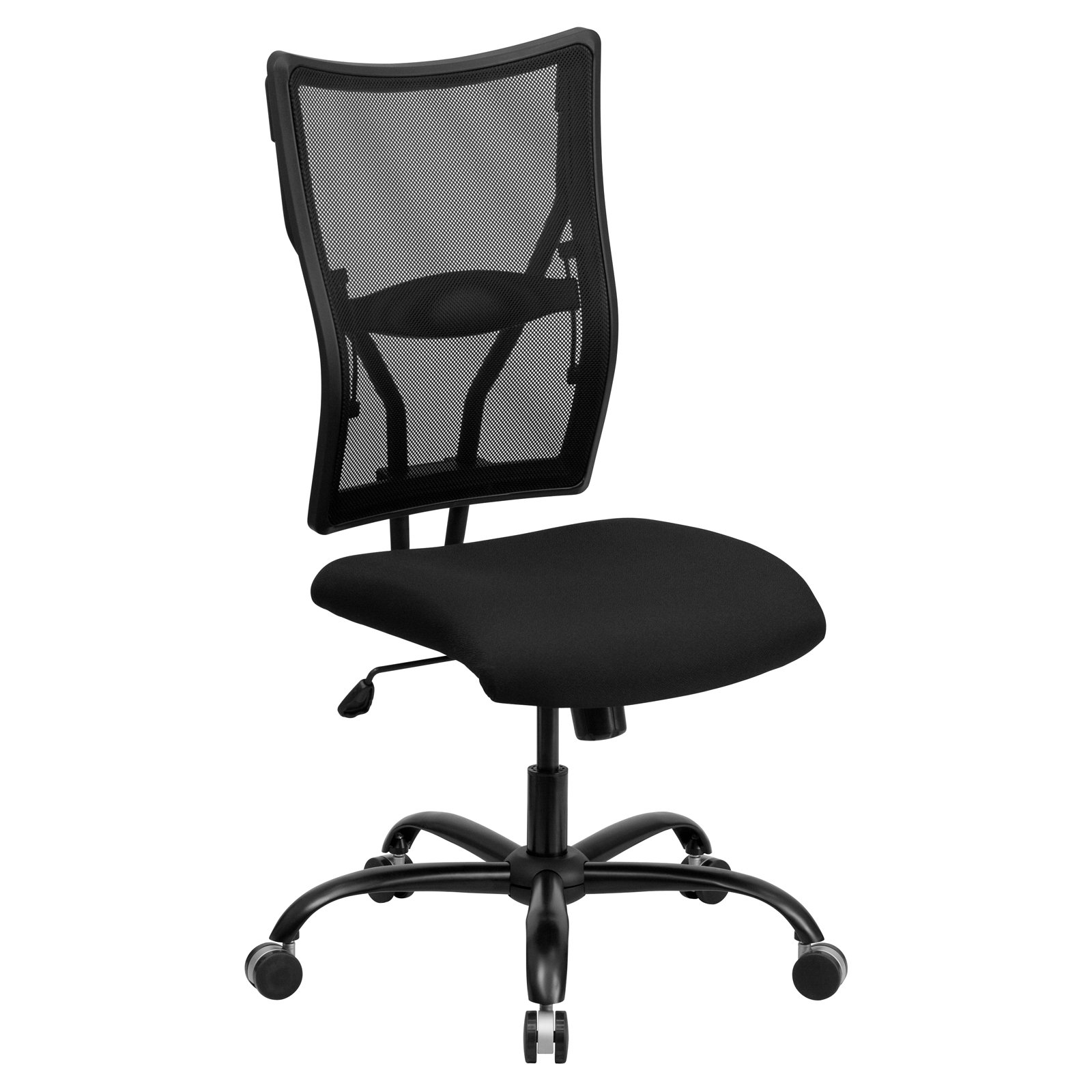 Flash Furniture Hercules Series Big and Tall Mesh Office Chair, Black