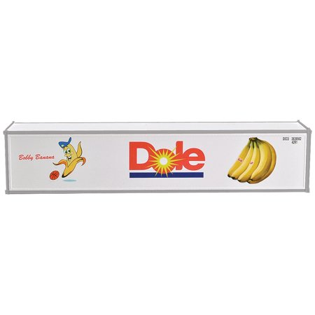 Reefer Box (ConCor HO Scale 40' Reefer Container Dole (Bobby Banana w/Basketball) 2-Pack)