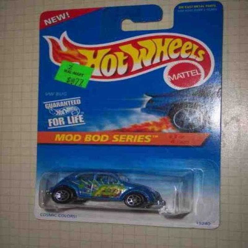 Mod Bod Series #3 VW Bug #398 Collectible Collector Car Mattel Hot Wheels 1:64 Scale by