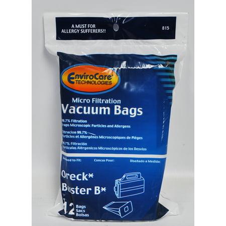 Oreck Buster B Hand Held Vacuum Cleaner Bags Walmart Com