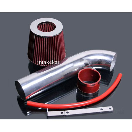 1993 1994 1995 1996 1997 1998 JEEP GRAND CHEROKEE 5.2 5.2L 5.9 5.9L V8 ENGINE AIR INTAKE KIT SYSTMES (RED)