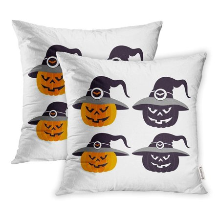 USART Eve Christian Feast All Hallows Day Halloween Horror Western Festival Pillowcase Cushion Cover 16x16 inch, Set of 2