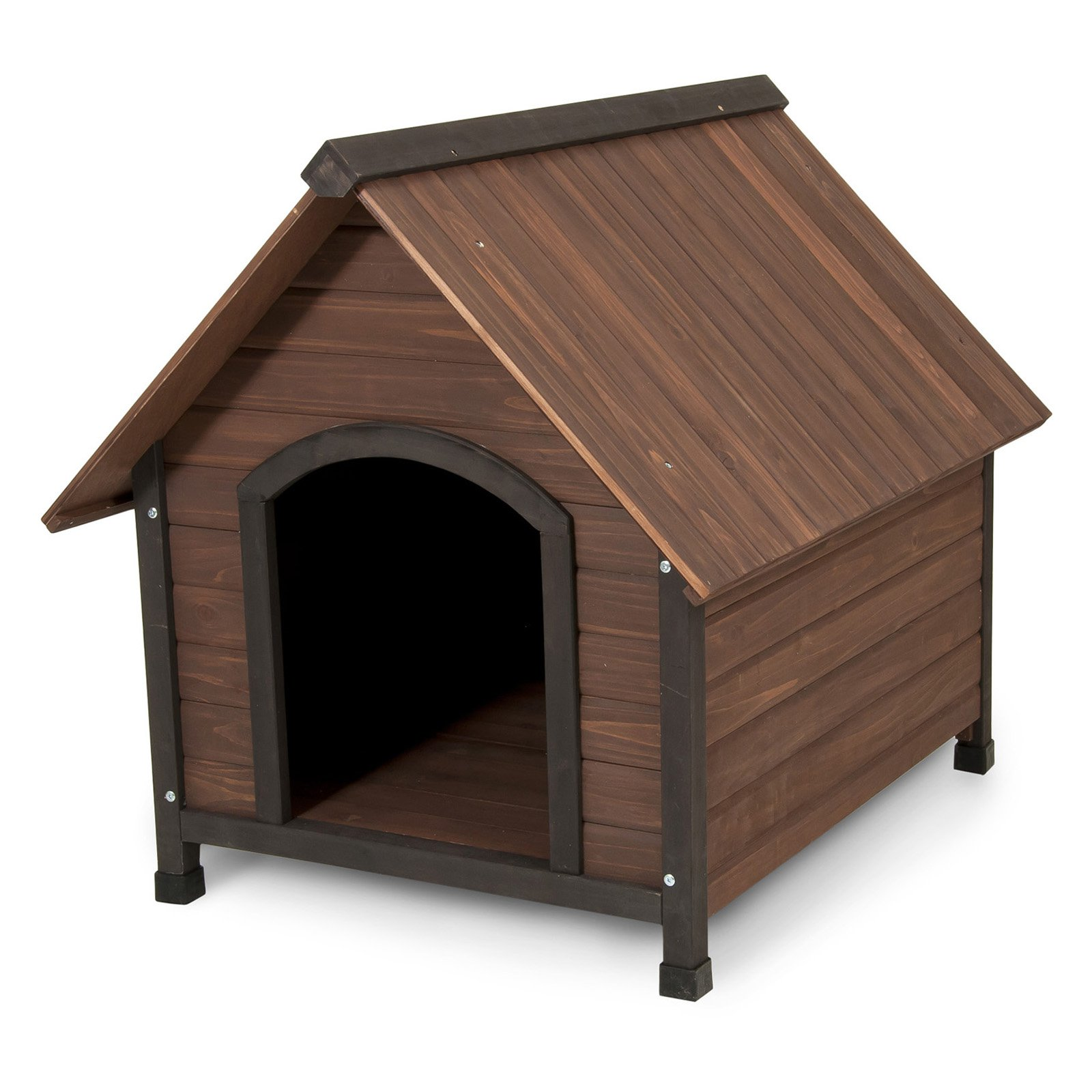 "Petmate Doskocil Co Inc 25038 34.32"" X 38.52"" X 31.8"" Ruff Hauz Offset Entry Dog House by Doskocil"