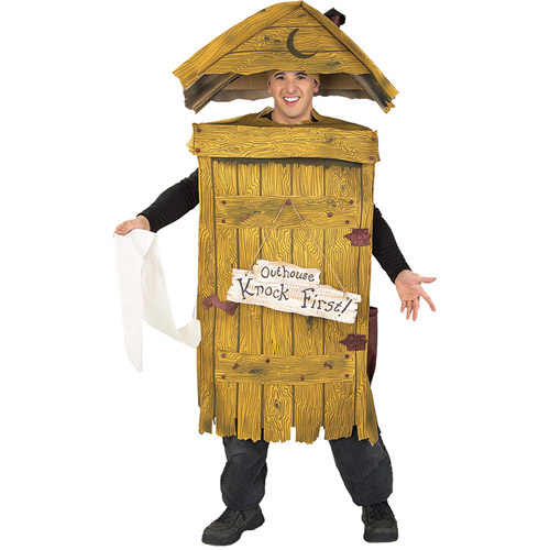 Outhouse Adult Halloween Costume
