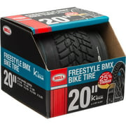 """Bell Sports Freestyle BMX Tire with Kevlar Layer, 20"""" Black"""