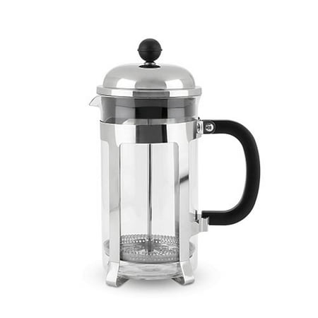 french press stainless steel insulated filter french press coffee maker metal. Black Bedroom Furniture Sets. Home Design Ideas