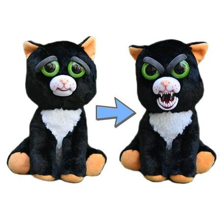 Feisty Pets Katy Cobweb (Halloween Black Cat) - Henri Black Cat Halloween