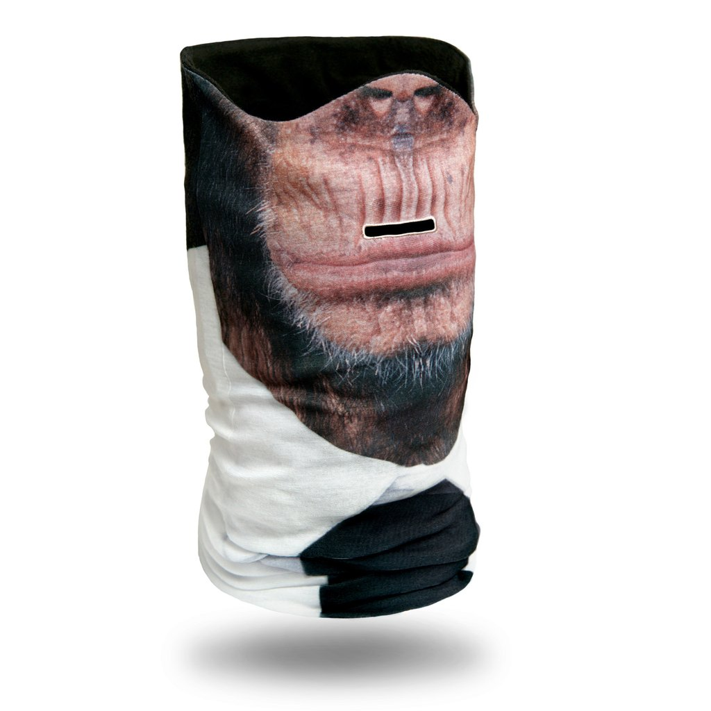 Chimp with Tie HD Ski Mask