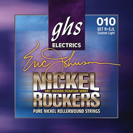 R+EJL Nickel Rockers Eric Johnson Light Signature Electric Guitar Strings, The perfect sound for all your guitar explosions By Ghs From
