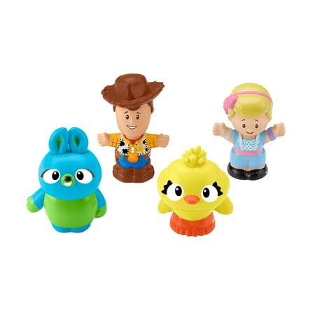 Little People Disney Pixar Toy Story Woody, Bo Peep, Ducky, & Bunny - Woody Toy Story Jessie