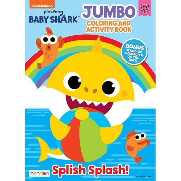 Bendon Publishing Baby Shark Jumbo Coloring Book - Walmart ...