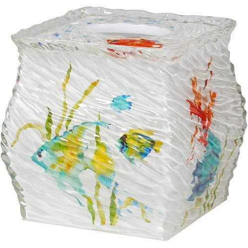 Creative Bath Rainbow Fish Boutique Tissue, Multi-Color