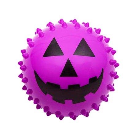 Halloween Jack-o-lantern Pumpkin Face Knobby Ball Toy Party Favor
