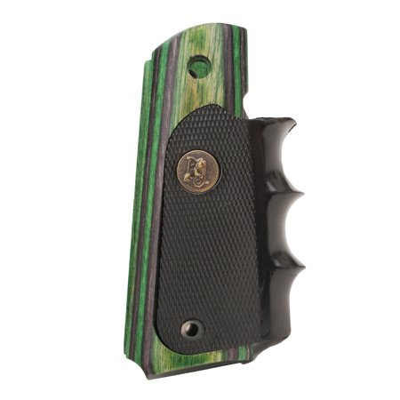 - Pachmayr Colt 1911 Grip Evergreen Camo Laminate