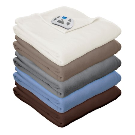 Sale Heated Blanket Twin Size (Serta MicroFleece Electric Heated)