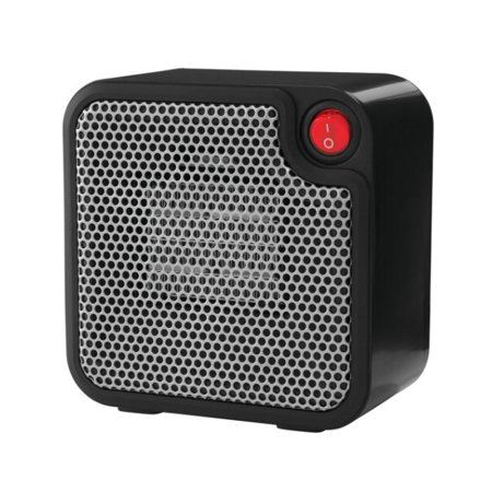 Mainstays Mini Ceramic Heater DQ1723-BLK Black