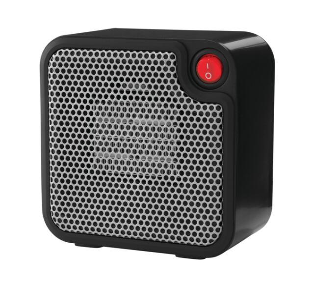 Mainstays Mini Ceramic Heater DQ1723-BLK Black