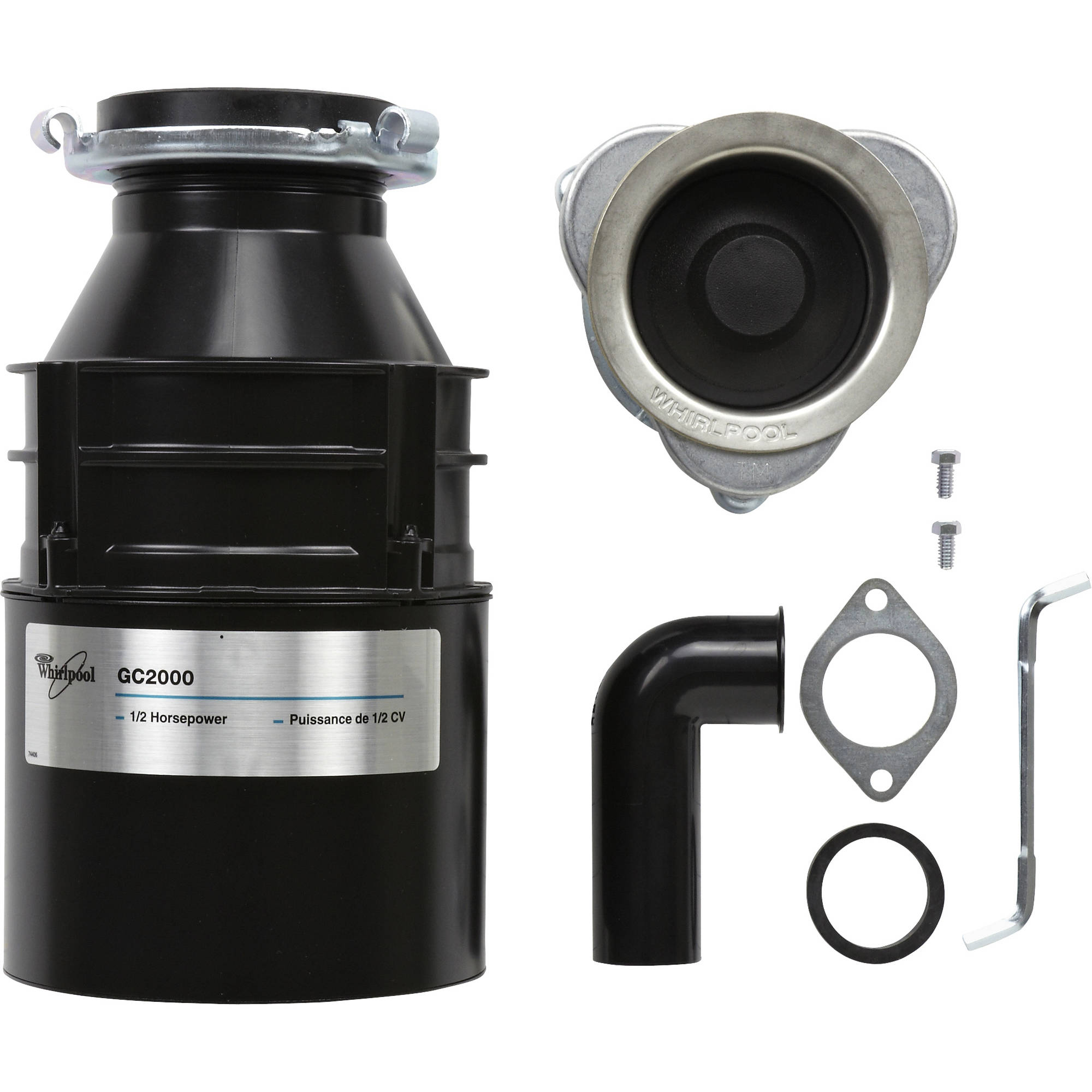 Whirlpool GC2000XEA Garbage Disposal
