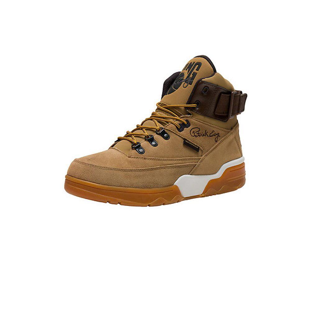 Click here to buy Fila Ewing 1EW90146-200 : 33 HI Winter Athletic Sneakers, Brown Suede, Mens 5 M.