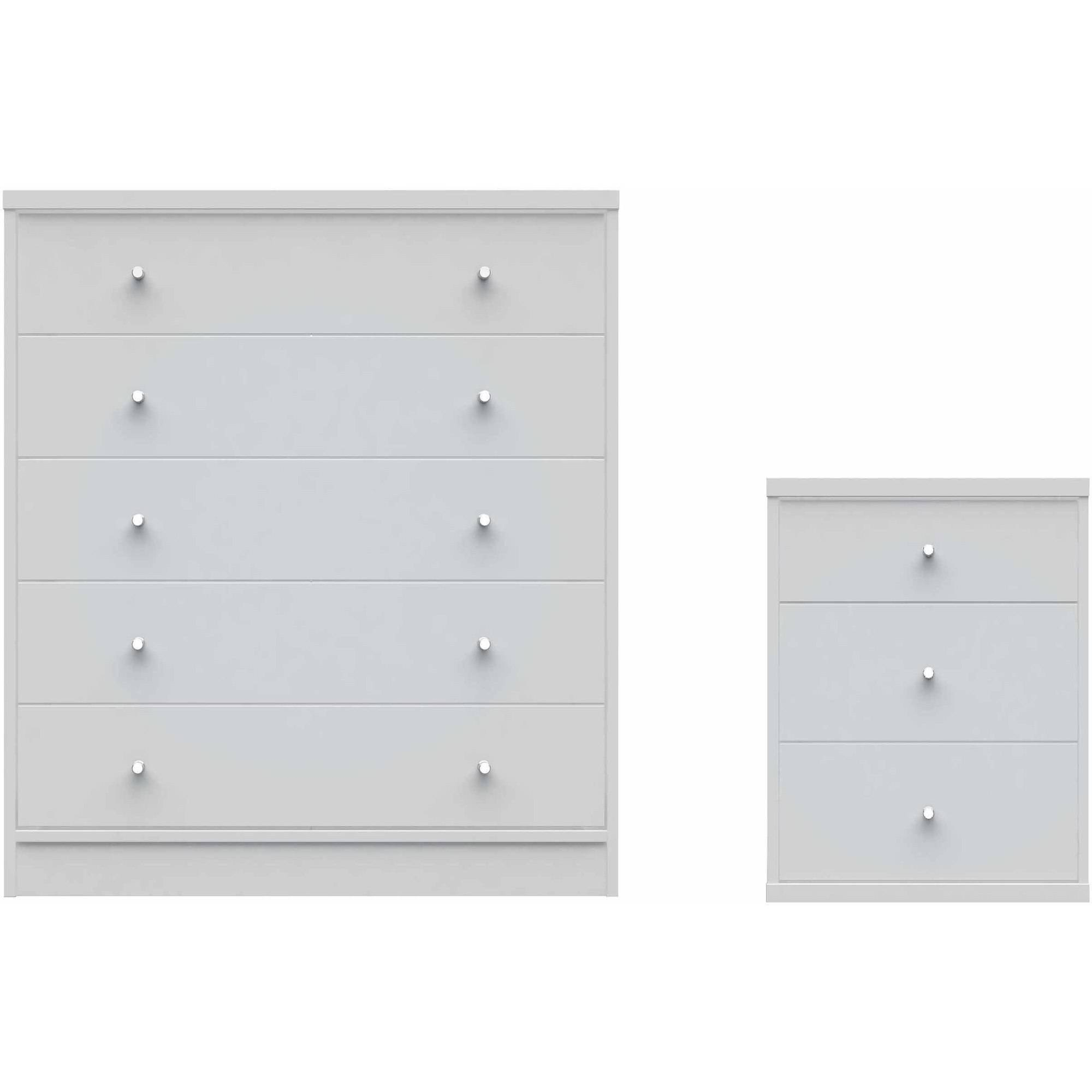 Superb Manhattan Comfort 2 Piece Astor 2.0 Bedroom Dresser And Nightstand Set Amazing Ideas