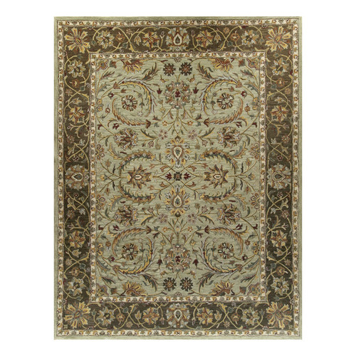 Bashian Rugs Charlton Light Green Ambiance Area Rug