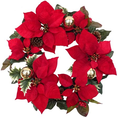 Happy Holidays Wreath - Holiday Time Christmas Decor 18